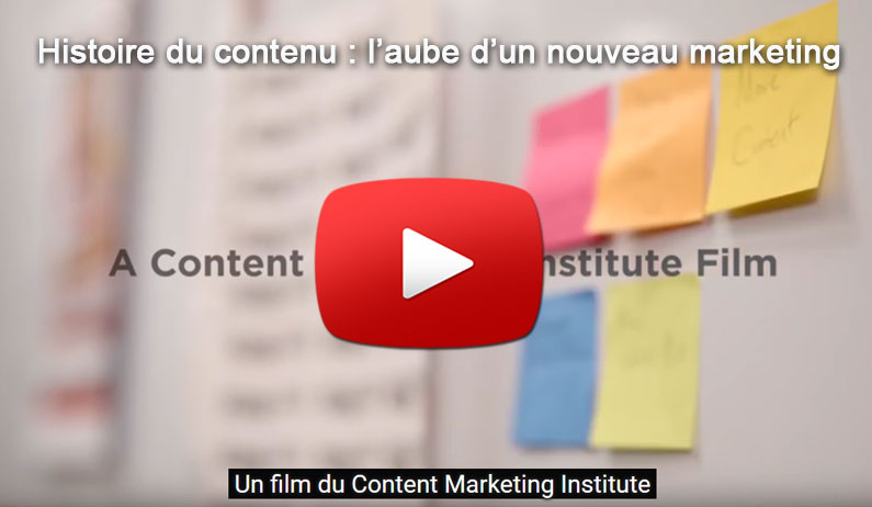 L'histoire et les enjeux du contenu d'entreprise en film